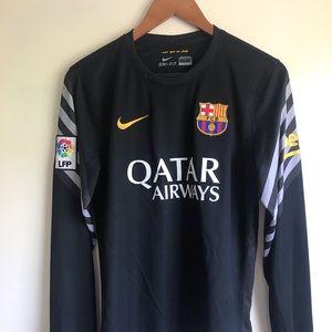 Fc Barcelona Nike Long Sleeve Jersey la liga